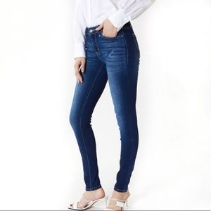 NWT Kancan stretch mid rise super skinny jeans